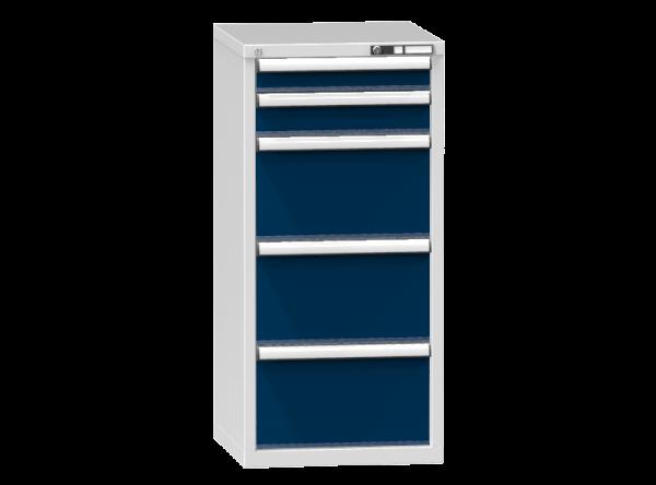 Schubladenschrank - Standcontainer - 1+1+3 Schublade - 1215x578x600 mm (HxBxT)