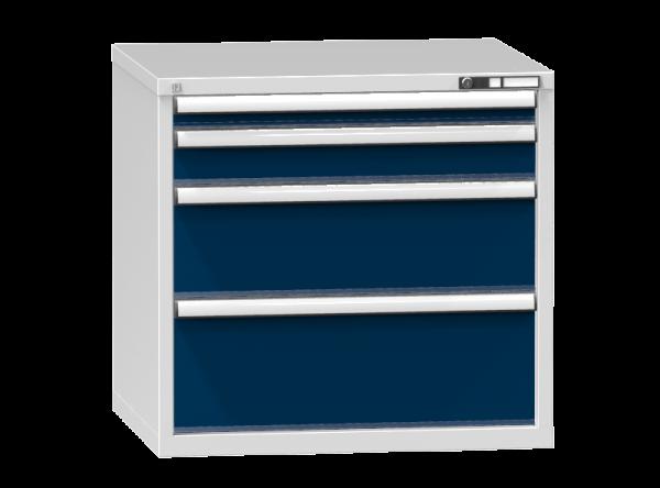 Schubladenschrank - Standcontainer - 1+1+1+1 Schublade - 840x884x753 mm (HxBxT)