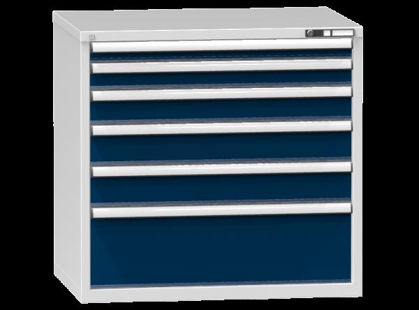 Schubladenschrank - Standcontainer - 1+1+1+2+1 Schublade - 990x1037x753 mm (HxBxT)