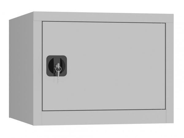 Aufsatzschrank mit Flügeltür - 1 Fach - 460x600x600 mm (HxBxT)