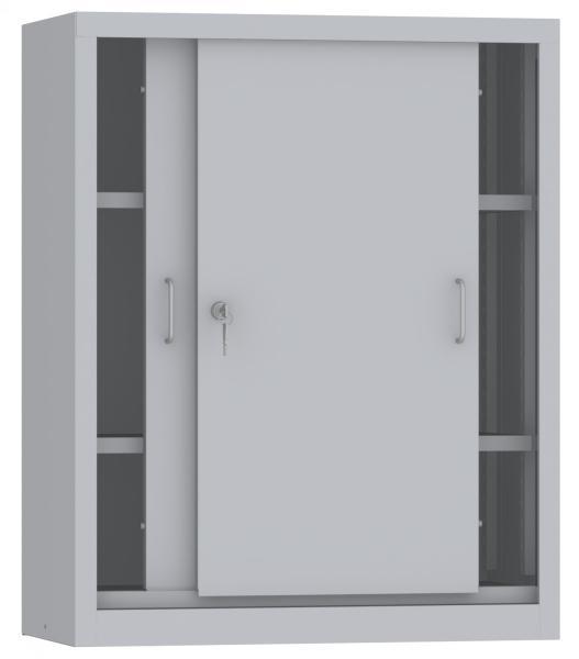 Schiebetürenschrank - 2 Einlegeböden - 1000x800x400 mm (HxBxT)