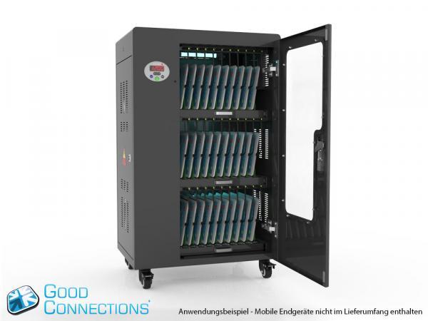 Tablet-Ladewagen für bis zu 30 Geräte - inkl. UV-C Desinfektion und Smart Control