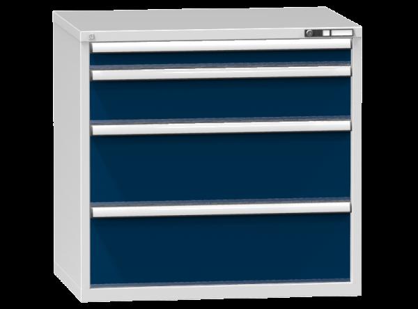 Schubladenschrank - Standcontainer - 1+1+2 Schublade - 990x1037x753 mm (HxBxT)