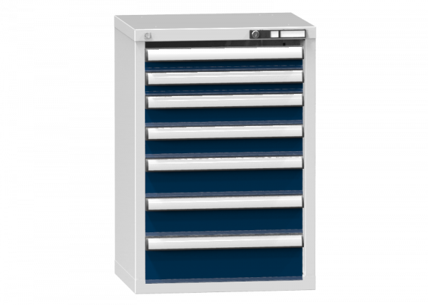 Schubladenschrank - Standcontainer - 2+2+2+1 Schublade - 840x578x464 mm (HxBxT)