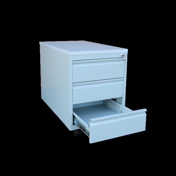 Rollcontainer - Frontgriff - 3 Schubladen - 610x460x590 mm (HxBxT)