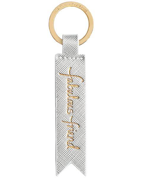 Schlüsselanhänger Flag Keyring Silver