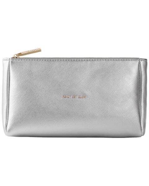 Kosmetiktaschen Must Have Make-up Bag Metallic Silver