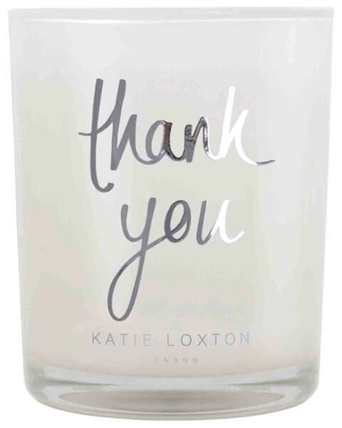 Wohnaccessoires Thank You Scented Candle