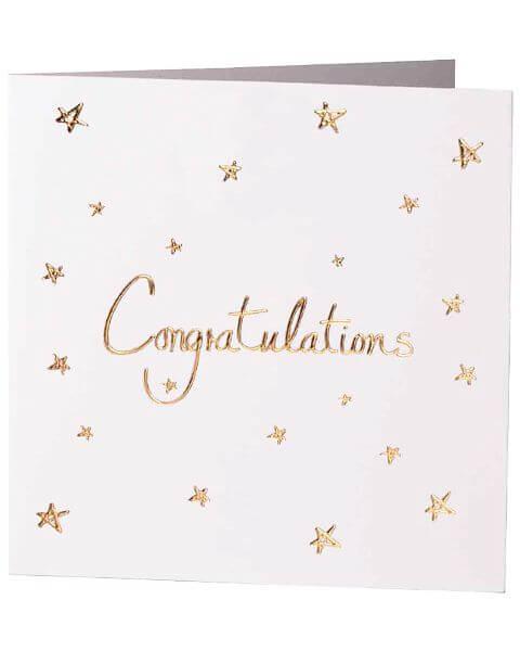 Grußkarten Congratulations Greeting Card
