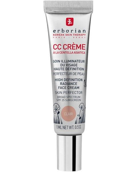 BB & CC Crèmes CC Crème à la Centella Asiatica Clair SPF 25