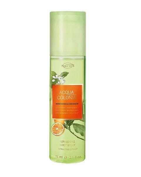 Mandarine & Cardamon Refreshing Body Spray