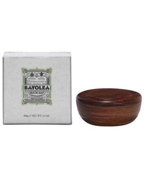 Bayolea Shaving Soap in Woodbowl