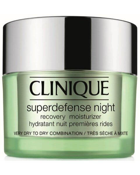 Feuchtigkeitspflege Superdefense Night Recovery Moisturizer Very Dry - Dry Combination Skin Typ 1,2