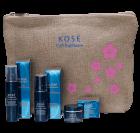 Kosé Cell Radiance Kosmetiktasche mit Luxusproben