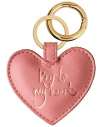 Schlüsselanhänger Heart Keyring Pink Sentiment