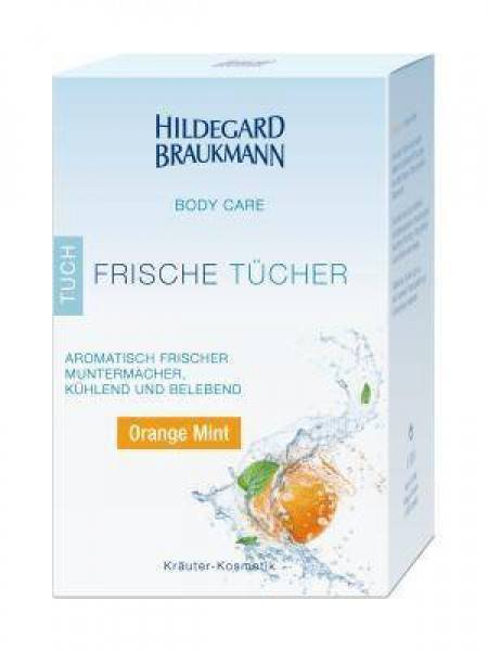 Body Care Frische Tuch – Orange Mint