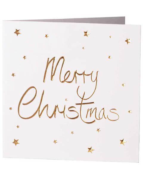 Grußkarten Merry Christmas Greeting Card