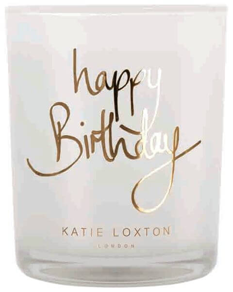 Wohnaccessoires Happy Birthday Scented Candle