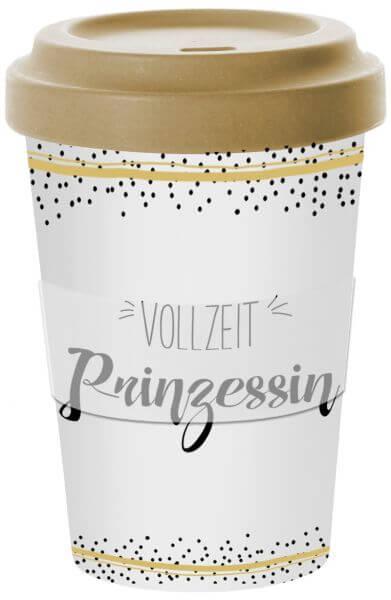 Wohndekoartikel Travel Mug Vollzeit Prinzessin