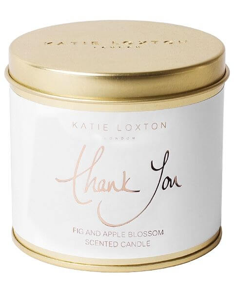 Wohnaccessoires Thank You Round Tin Candle