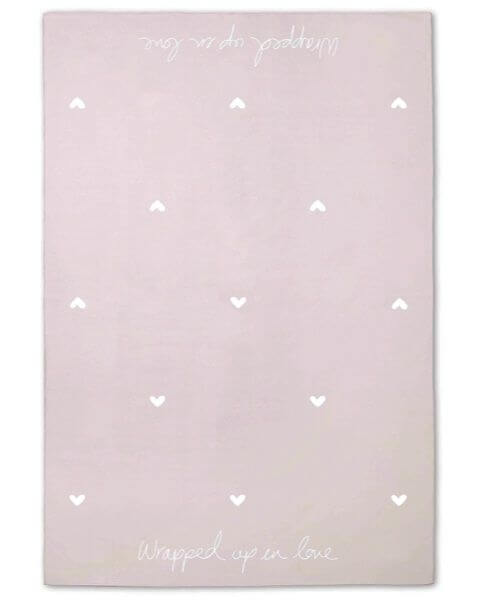 Wohnaccessoires Wrapped up in Love Blanket