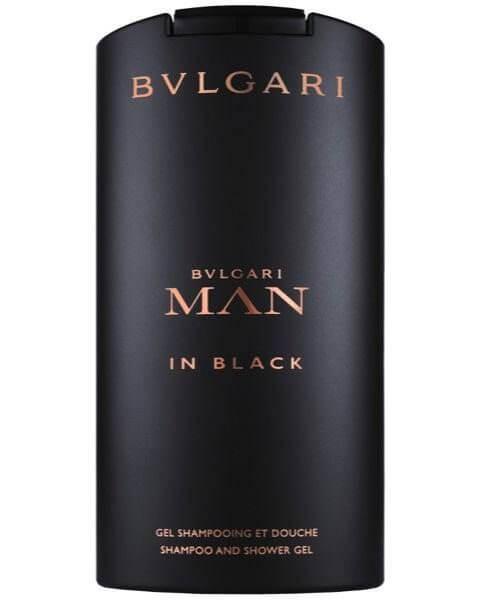 Bvlgari Man in Black Shampoo and Shower Gel