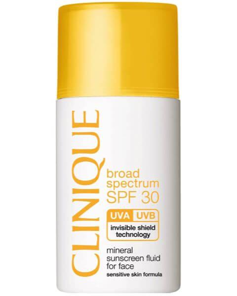 Sonnenpflege SPF 30 Mineral Sunscreen Fluid for Face Typ 1,2,3,4