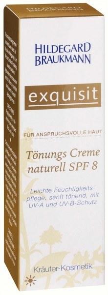 Exquisit Tönungscreme naturell SPF8