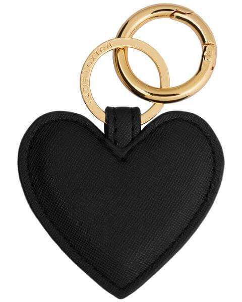 Schlüsselanhänger Heart Keyring Black
