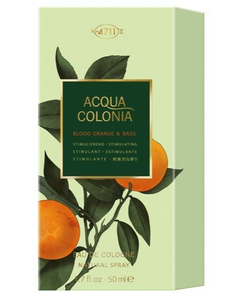Blood Orange & Basil Eau de Cologne Spray