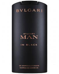 Bvlgari Man in Black Shampoo and Shower Gel