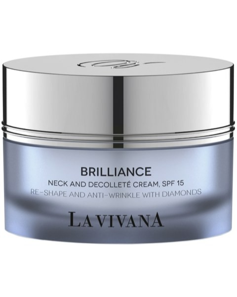 Brilliance Neck and Decolleté Cream, SPF 15