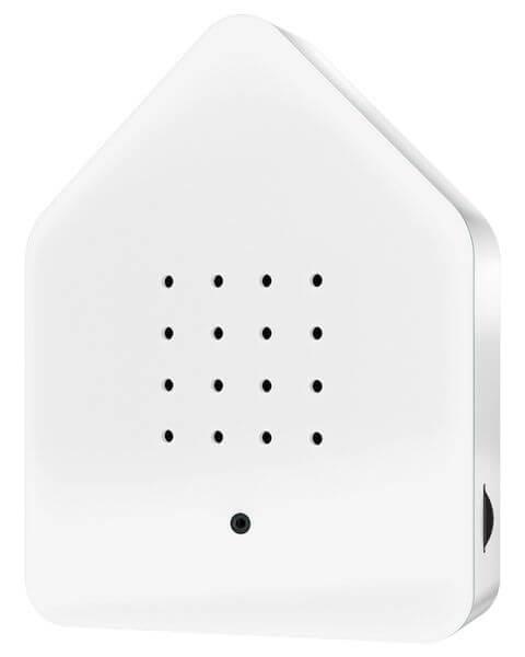 Zwitscherbox Klassik Weiß Bewegungsmelder