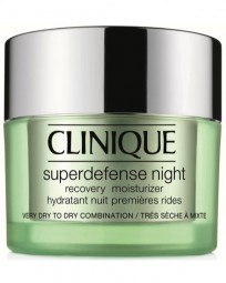 Feuchtigkeitspflege Superdefense Night Recovery Moisturizer Very Dry - Dry Combination Skin Typ 1,2