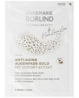 ANNEMARIE BÖRLIND AUGEN- und LIPPENPFLEGE Anti-Aging Augenpads gold mit Soforteffekt