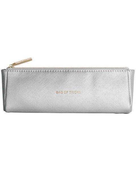 Kosmetiktaschen Brush Bag Metallic Silver