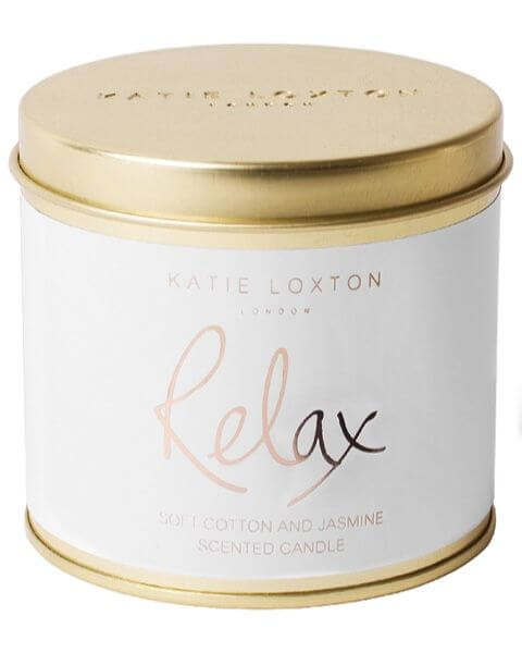 Wohnaccessoires Relax Round Tin Candle
