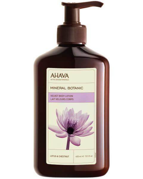 Mineral Botanic Velvet Body Lotion Lotusblüte Kastanie Von Ahava