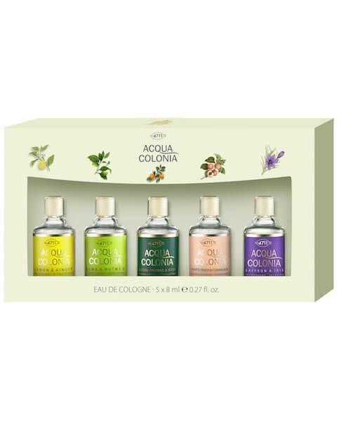 4711 Acqua Colonia Saffron & Iris Miniaturenset