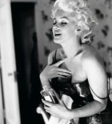 50 Jahre nach dem Tod - die Monroe wirbt für Chanel No. 5