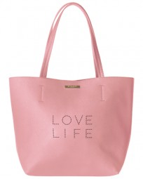 Handtaschen Love Life Shopper Bag Blush Pink