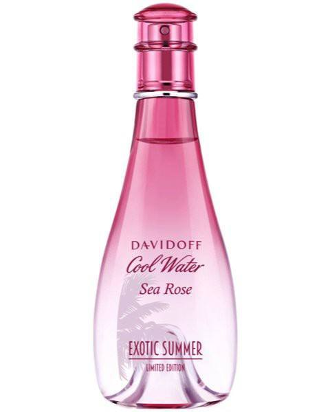 Cool Water Woman Sea Rose Exotic Summer EdT Spray