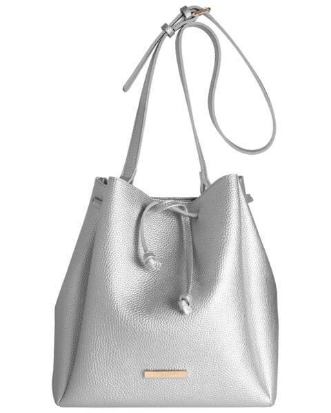 Handtaschen Chloe Bucket Bag Metallic Silver