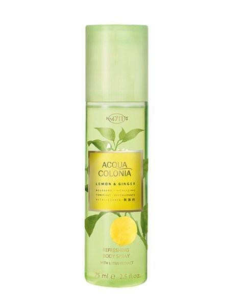 Lemon & Ginger Refreshing Body Spray