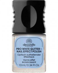 Professional Manicure Pro White Glitter