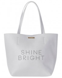 Handtaschen Shine Bright Shopper Bag Pale Grey