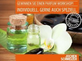 Gewinnen Sie mit Jochen Schweizer einen Perfum-Workshop