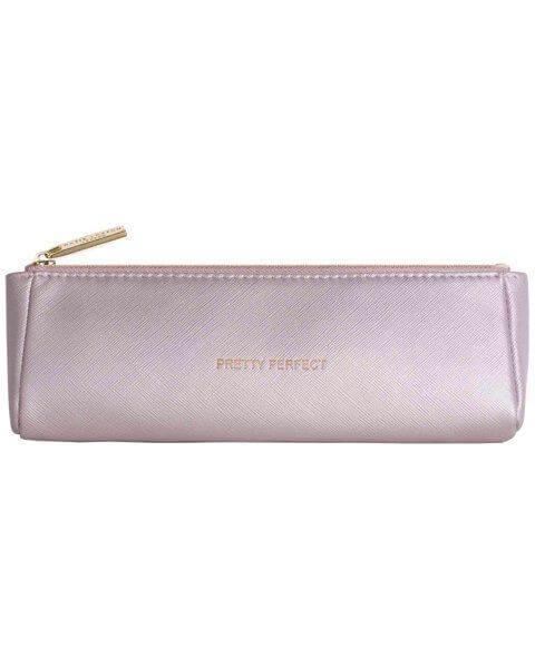 Kosmetiktaschen Brush Bag Metallic Pink