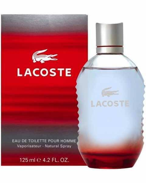 Lacoste Red Eau de Toilette Spray
