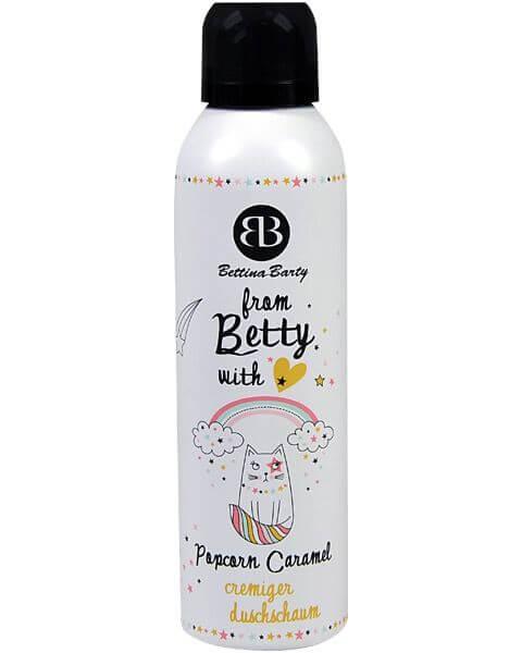 From Betty with Love Popcorn Caramel Duschschaum